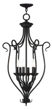 Livex Lighting 6128-07 - 6 Light Bronze Foyer Chandelier