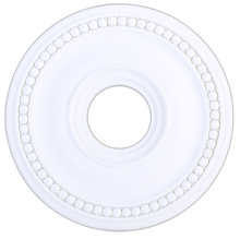 Livex Lighting 82073-03 - White Ceiling Medallion