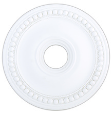 Livex Lighting 82074-03 - White Ceiling Medallion