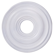 Livex Lighting 8217-03 - White Ceiling Medallion