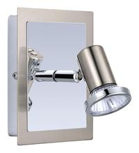 Eglo 200092A - 1X50W Wall Light w/ Matte Nickel & Chrome Finish