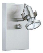 Eglo 86016A - 1x50W Track Wall Light w/ Matte Nickel Finish