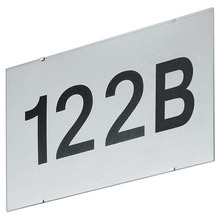 Eglo 87137A - Outdoor Fitting Board Silver Numbers and Letters