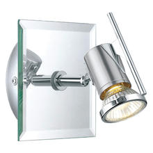 Eglo 90684A - 1x50W Wall Track Light /w Chrome & Mirror Finish