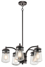 Kichler 49498AZ - Outdoor Chandelier 5Lt
