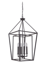 Craftmade 45835-OB - Hudson 4 Light Large Foyer in Oiled Bronze