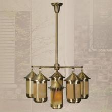 Livex Lighting 2446-22 - Brass Outdoor Chandelier