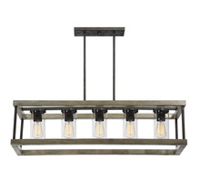 Savoy House 1-2101-5-70 - Eden 5 Light Outdoor Chandelier