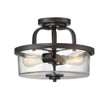 Savoy House 6-6053-2-13 - Tulsa 2 Light Semi Flush
