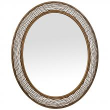 Varaluz 240A02HO - Flow Oval Mirror