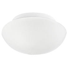 Eglo 81635A - 1x60W Ceiling Light w/ White Finish & Opal Glass