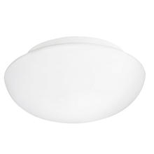 Eglo 81636A - 1x60W Ceiling Light w/ White Finish & White Glass