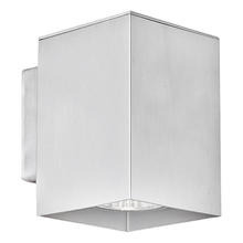 Eglo 87018A - 1x50W Wall Light w/ Aluminum Finish