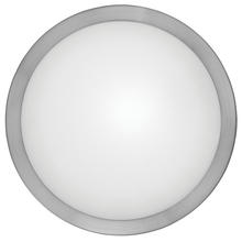 Eglo 87328A - 1x60W Wall/Ceiling Light w/ Matte Nickel Finsh & Frosted Glass