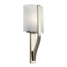 Kichler 10686PN - Wall Sconce 1Lt Fluorescent