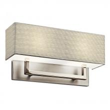 Kichler 10796SN - Wall Sconce 2 Lt Fluorescent
