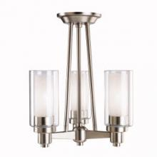 Kichler 3743NI - Chandelier/Semi Flush 3Lt