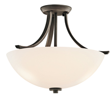 Kichler 42563OZ - Semi Flush 3Lt