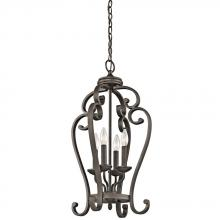 Kichler 43165OZ - Large Foyer Pendant 4Lt