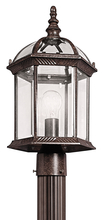 Kichler 49187TZ - Outdoor Post Mt 1Lt