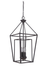 Craftmade 45834-OB - Hudson 4 Light Small Foyer in Oiled Bronze