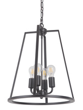 Craftmade 45934-OBG - Arc 4 Light Foyer in Oil Bronze Gilded